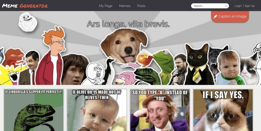 Meme Generator - Blogging Tools