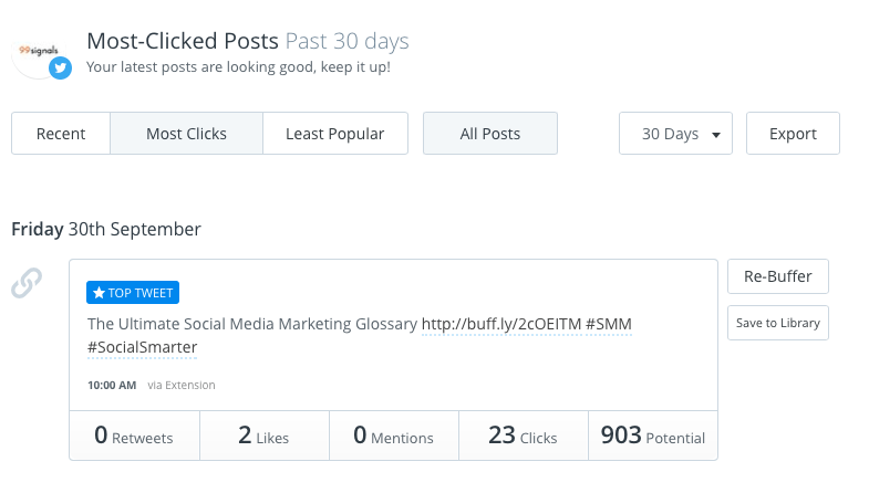 7 Guaranteed Ways to Boost Your Social Media Marketing in Just 30 Minutes: Buffer Analytics
