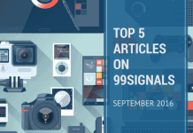 Top 5 Articles on 99signals - September (Email Marketing, SEO, Content Marketing, Social Media Marketing)