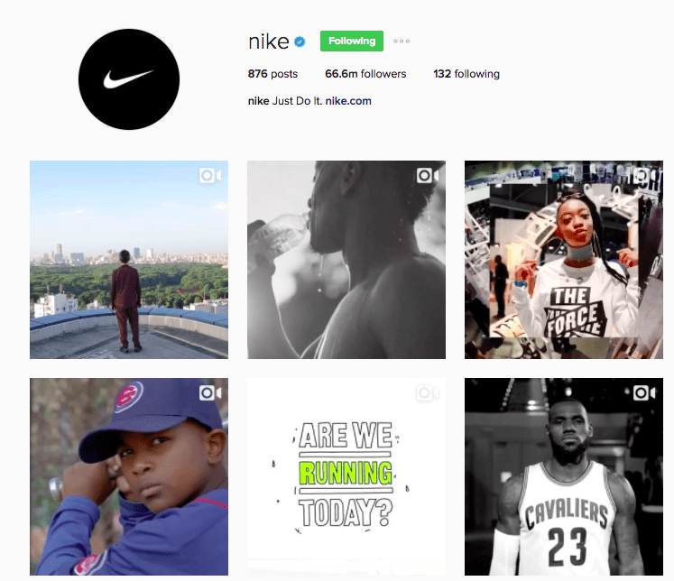 Best Instagram Brands - Nike