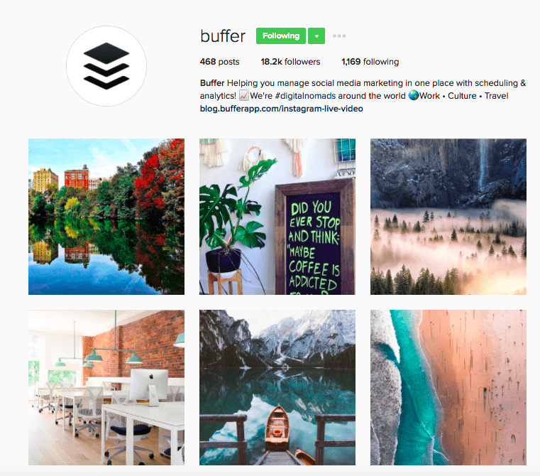 Best Brands on Instagram - Buffer's Instagram Feed