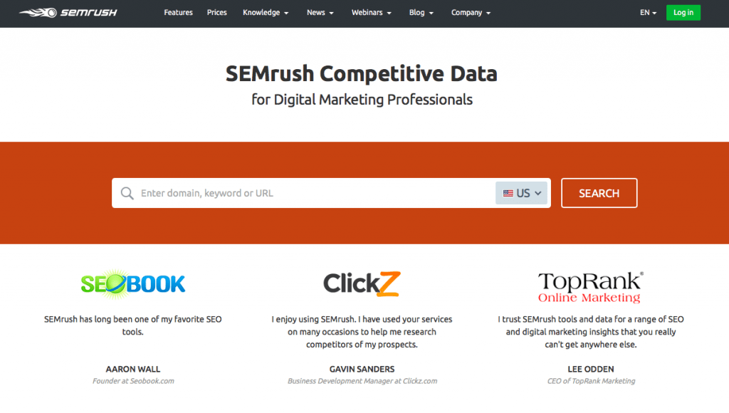 SEMrush Pro November Offer