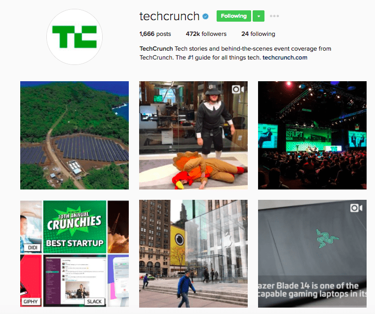 Best Brands on Instagram - TechCrunch