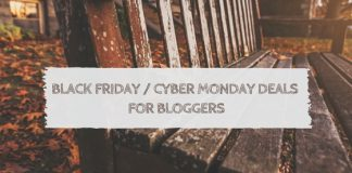 Black Friday Deals for Bloggers (2016 Edition)
