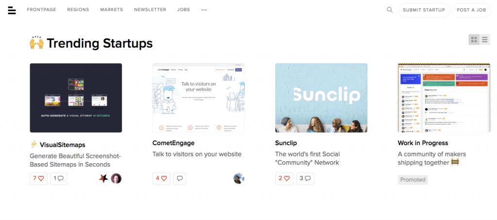 BetaList Startup Directory