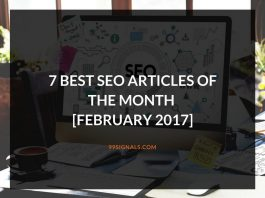 7 Best SEO Articles of the Month [February 2017]
