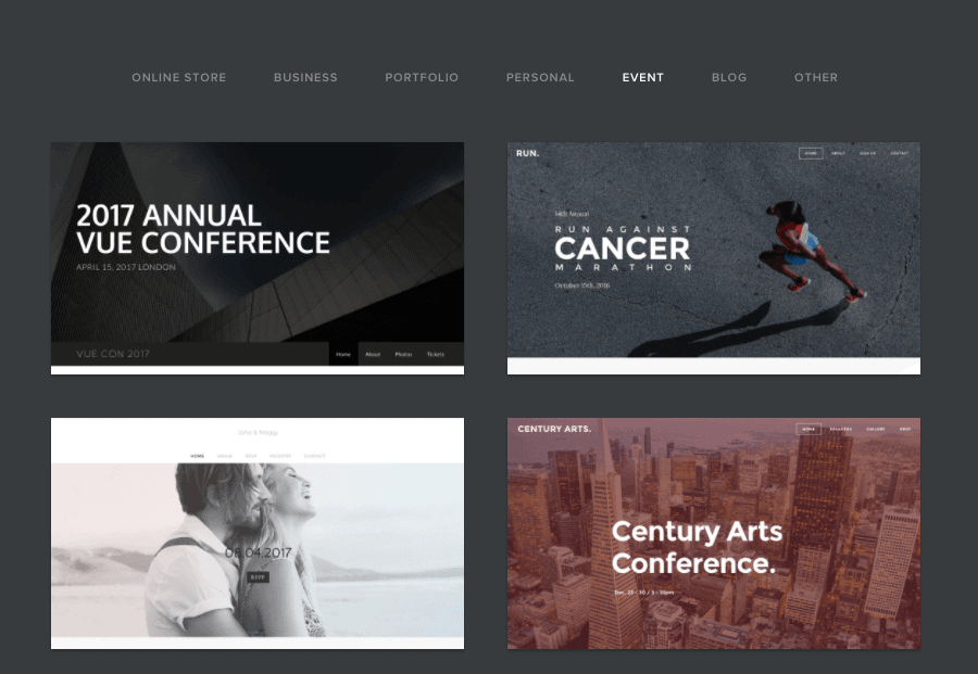 Weebly Review: Weebly Themes and Templates