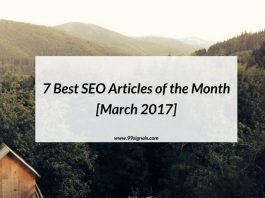 7 Best SEO Articles of the Month [March 2017]