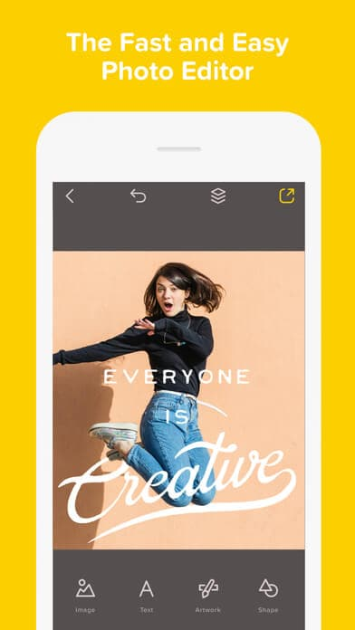 Over is an app that allows you to create visually appealing graphics. Over makes it easy to make beautiful graphics for Instagram while you're on the go.