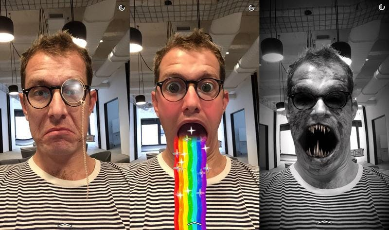 Go Weirdo With the New Snapchat Lenses Feature - Snapchat Marketing Tips