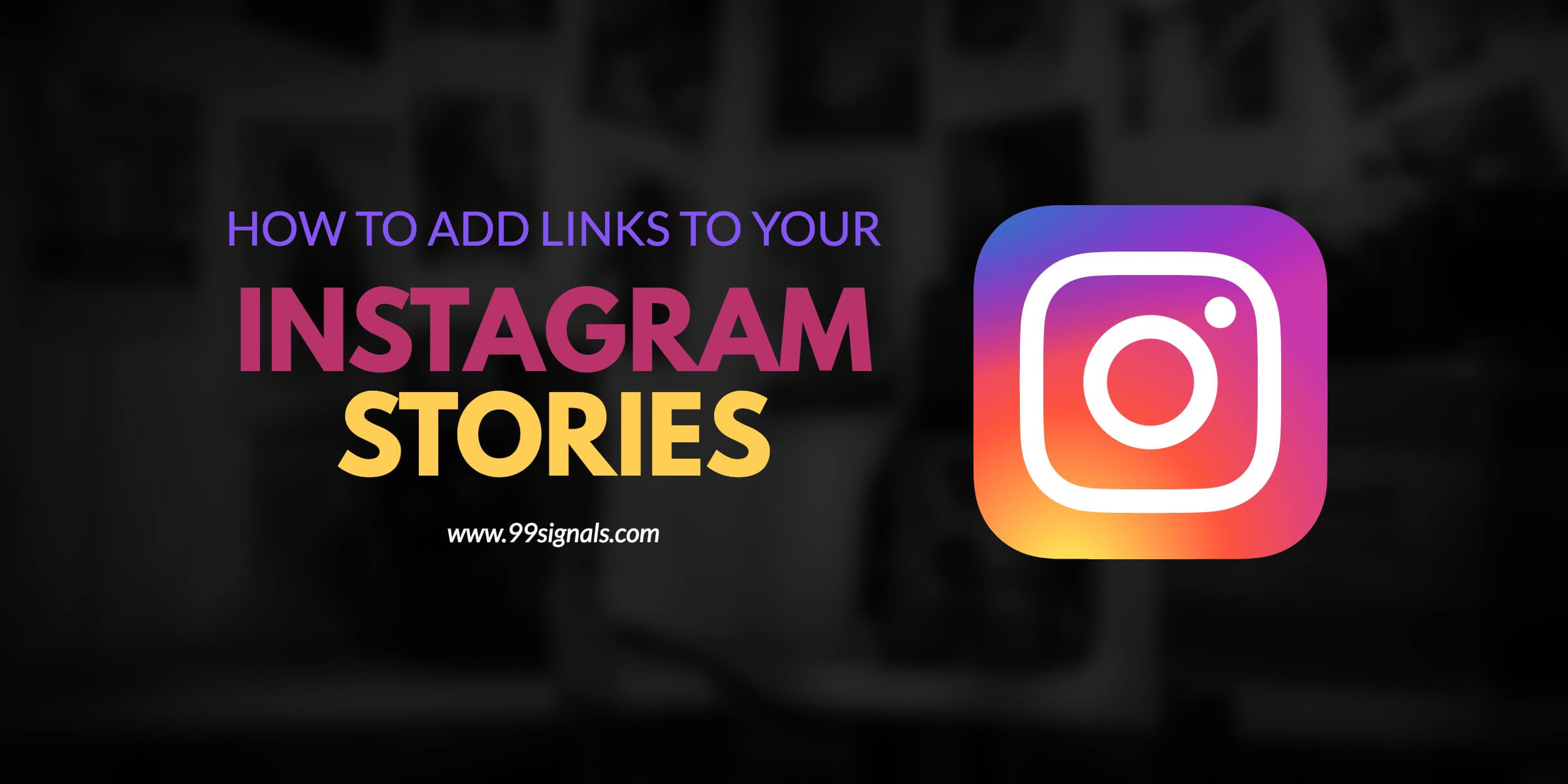 how to add youtube link to instagram
