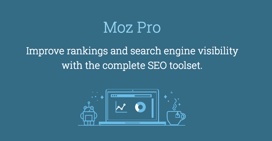 Moz Pro - Top 5 SEO Tools for Startups