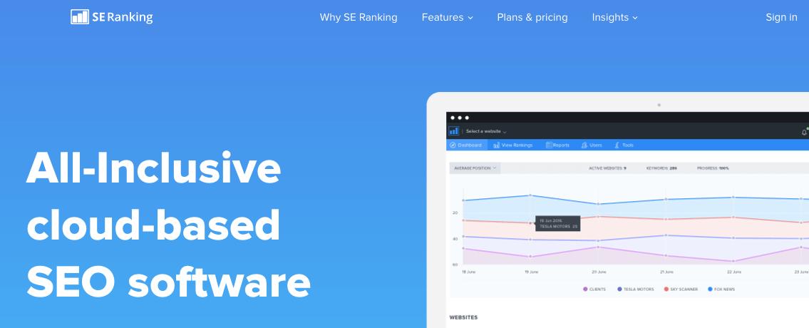 SE Ranking - AppSumo Deal