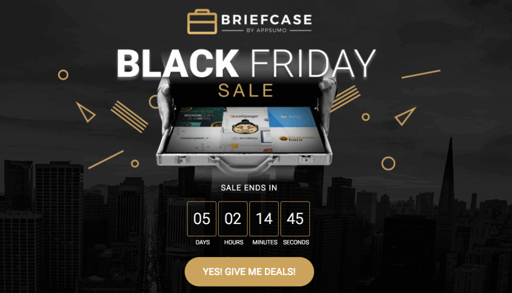 Black Friday Briefcase Sale