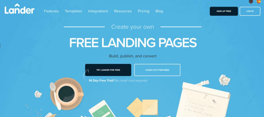 Lander - Landing Page Software