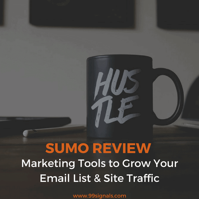 Sumo Review - Marketing Tools to Grow Your Email List & Site Traffic