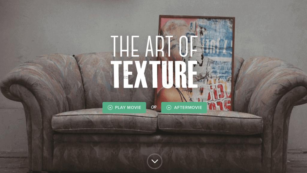 The Art of Texture Website