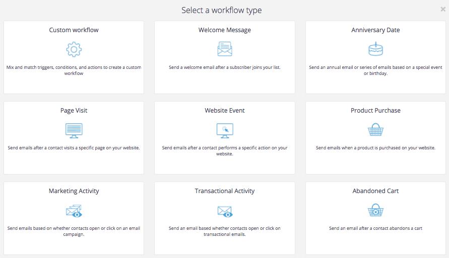 SendinBlue Email Automation - Workflow Designer