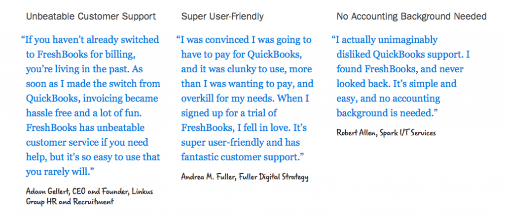 FreshBooks Customer Support: In this article, we will be comparing these two accounting tools on these factors: pricing, product features, ease of use, customer service, and customer feedback & reviews.