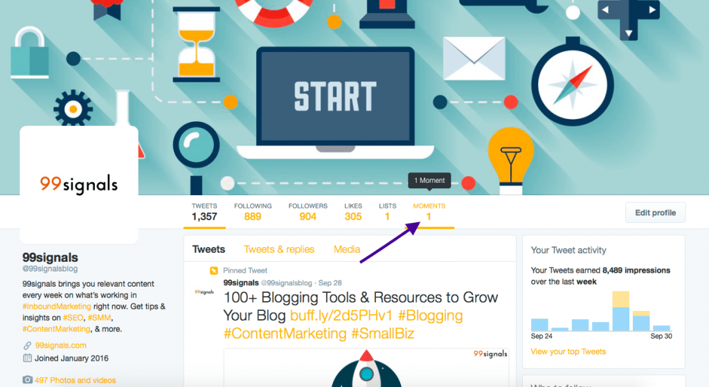 Twitter Moments - How to Create Your Own Moment