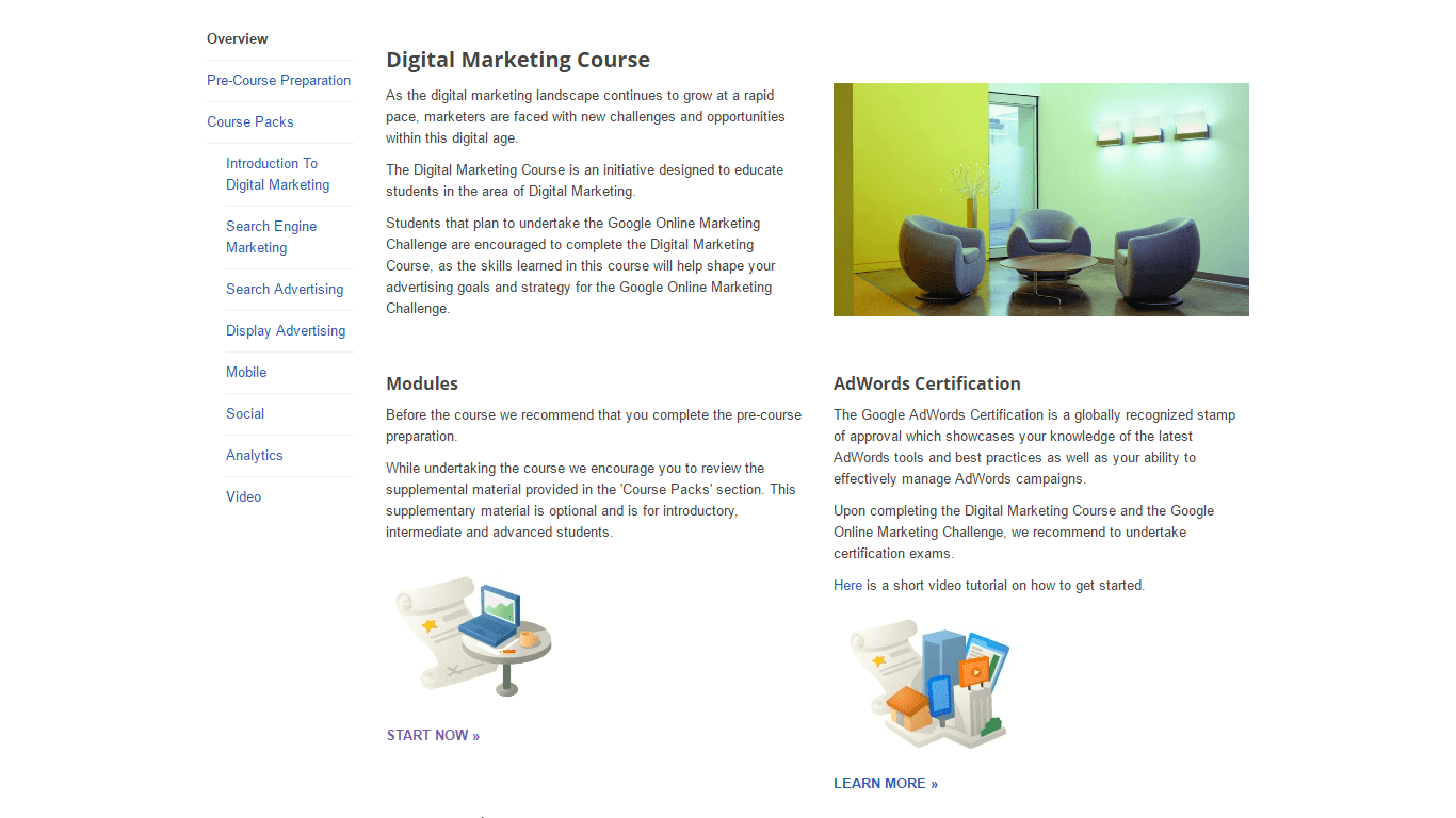Digital Marketing Challenge by Google