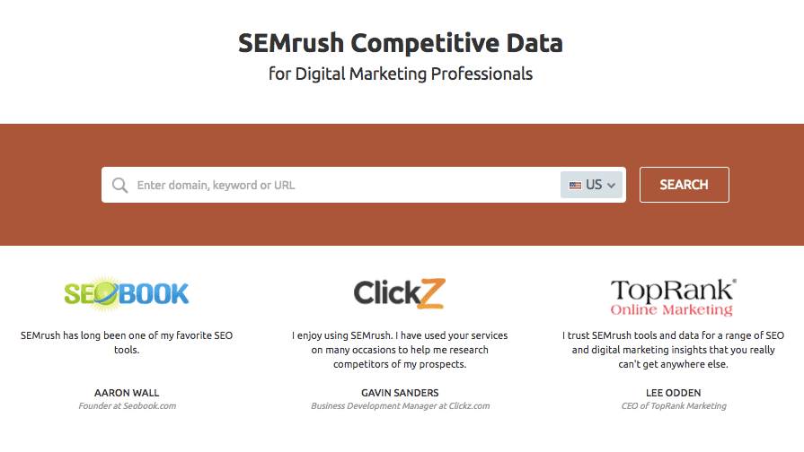 SEO Tools Showdown: SEMrush