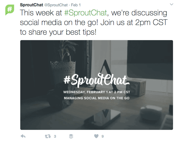 25 Best Twitter Chats for Marketers - #SproutChat