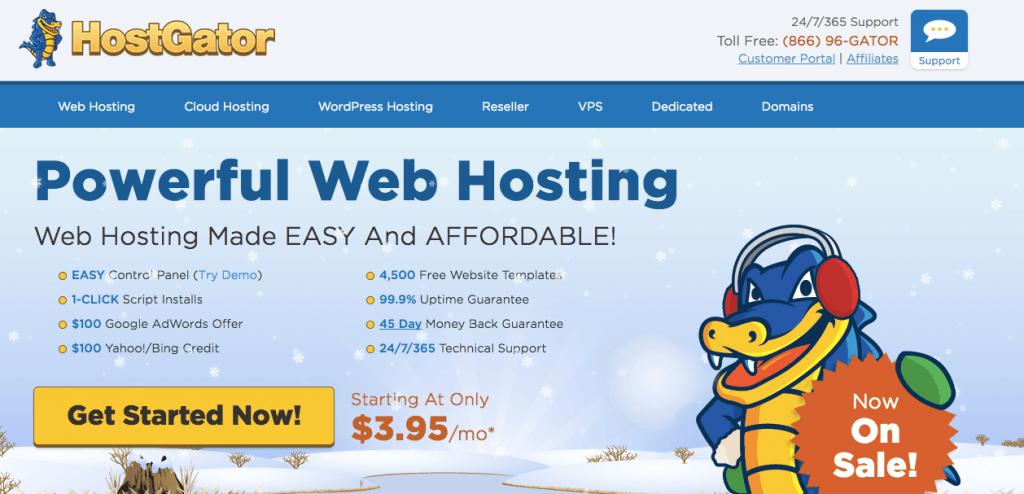 Best Web Hosting Companies of 2017 - HostGator
