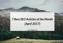7 Best SEO Articles of the Month [April 2017]