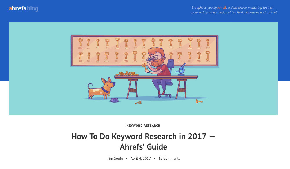 Ahrefs Keyword Research [Best SEO Articles April 2017]