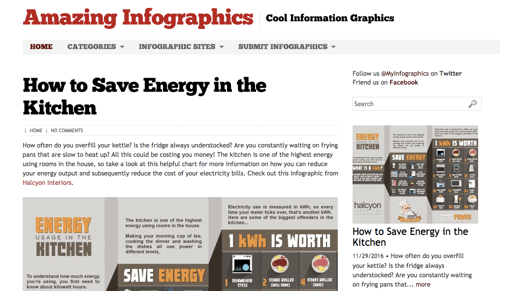 Infographic Submission Sites: Amazing Infographics