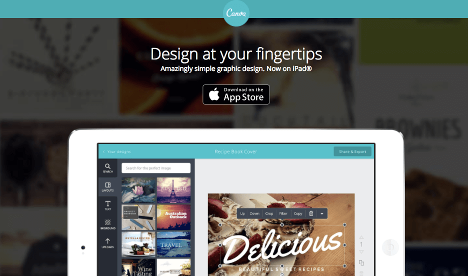 Canva App for iOS - iPhone Apps for Marketing Professionals