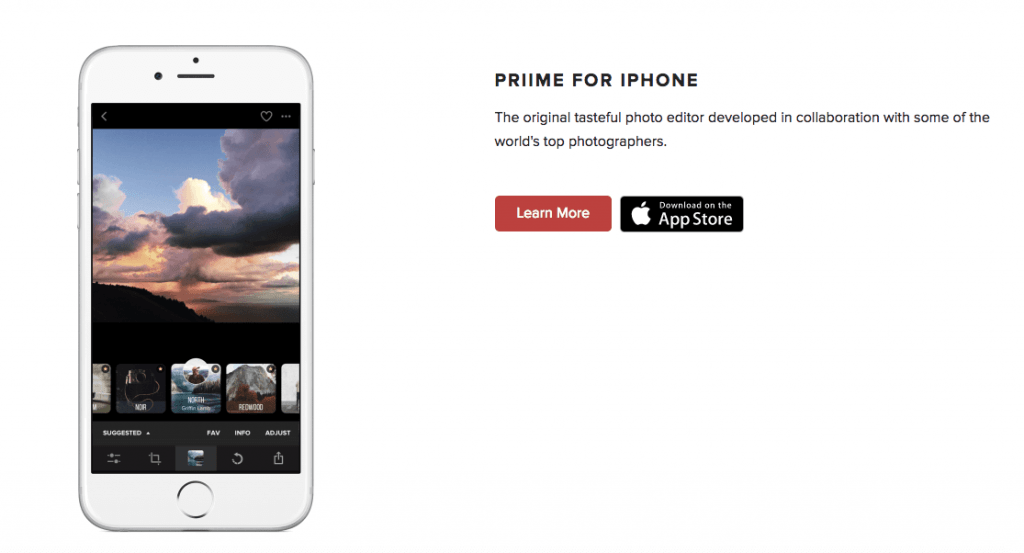 Priime for iPhone - iPhone Apps for Marketing Professionals