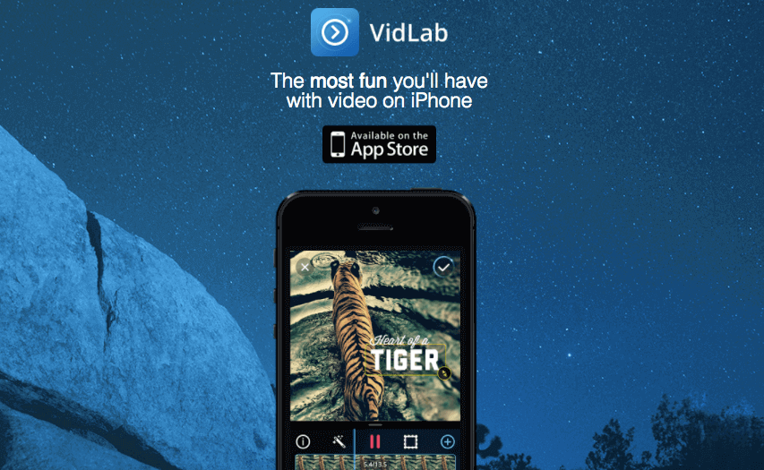 VidLab for iOS - iPhone Apps for Marketing Professionals