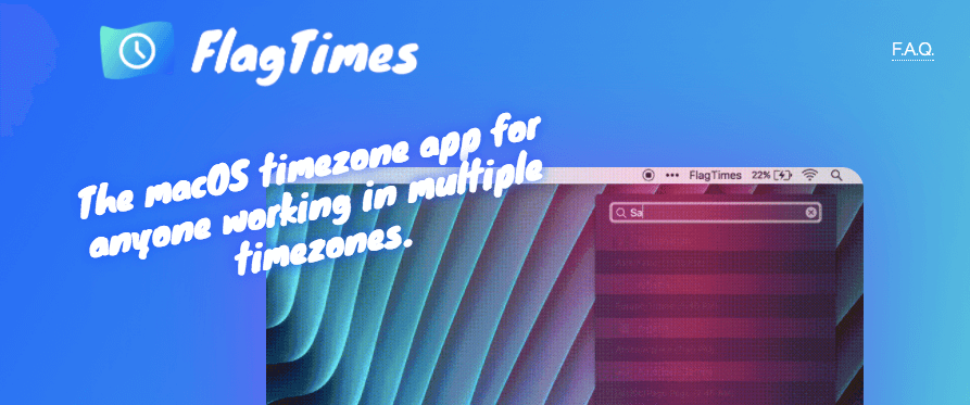 FlagTimes - Mac App for Entrepreneurs