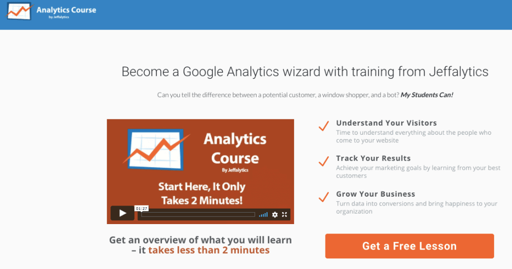 Google Analytics Course - AppSumo