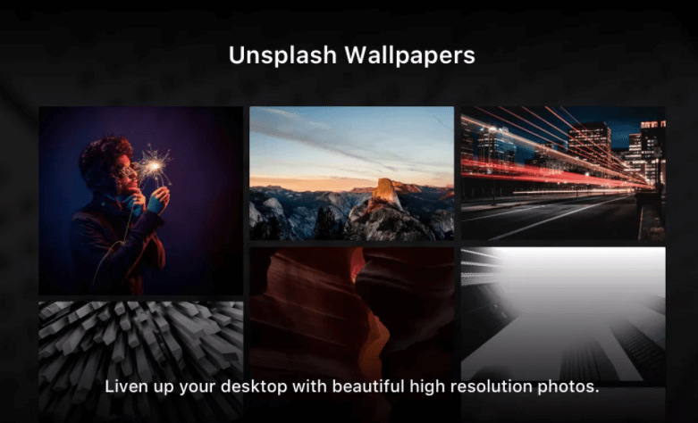 Unsplash for Mac - Best Mac Apps for Entrepreneurs