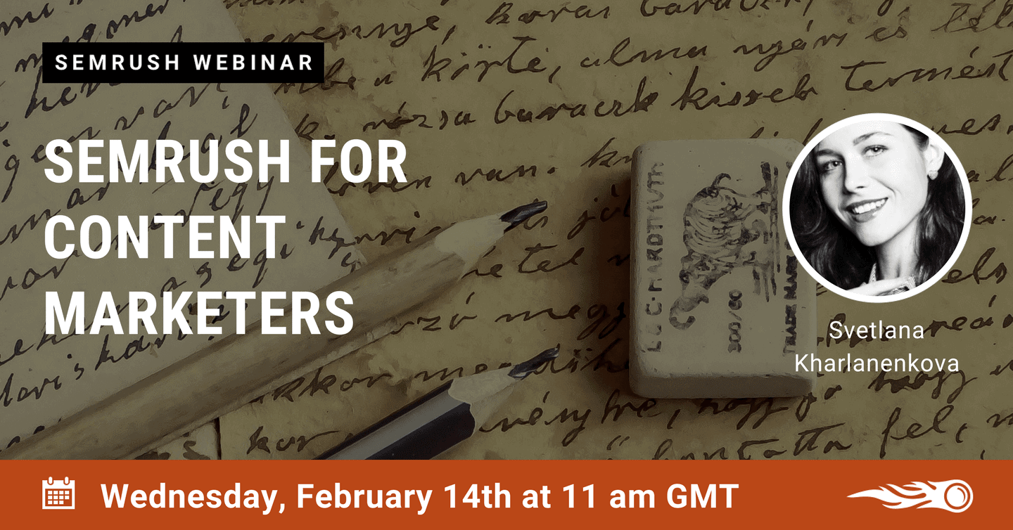 SEMrush Webinar Feb