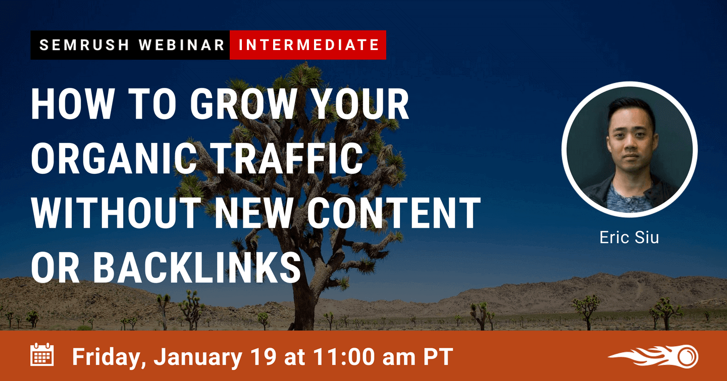 SEMrush Webinar Jan 19