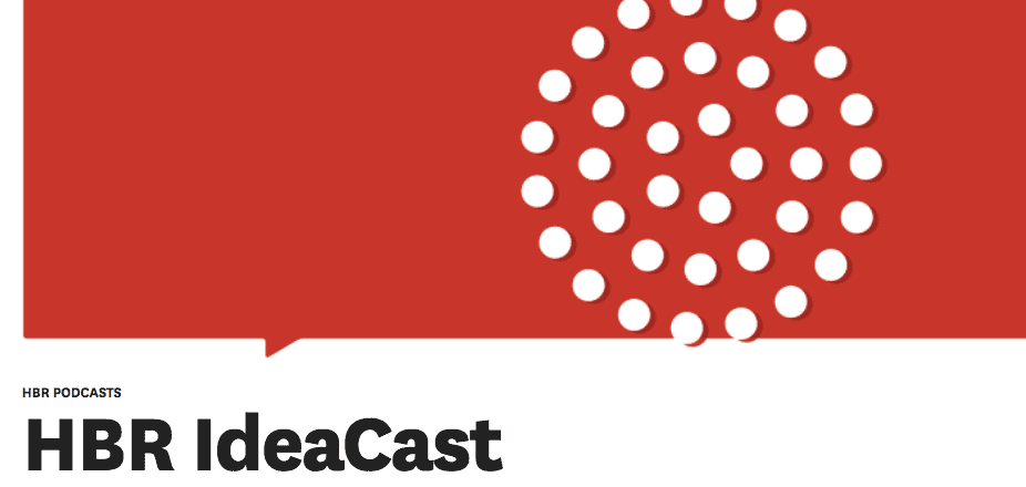 HBR IdeaCast - Top 15 Marketing Podcasts