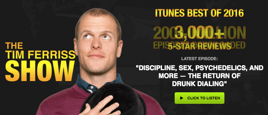 The Tim Ferriss Show - Best Marketing Podcasts