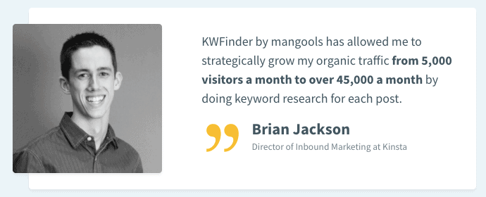 KWFinder - Customer Reviews