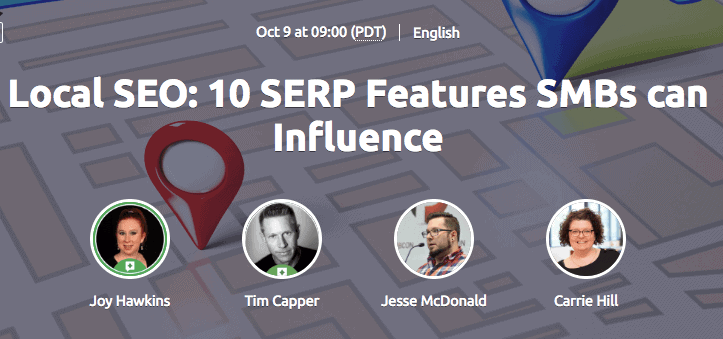 Local SEO Webinar by SEMrush