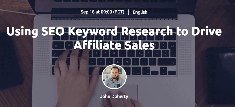 SEO Keyword Research Webinar