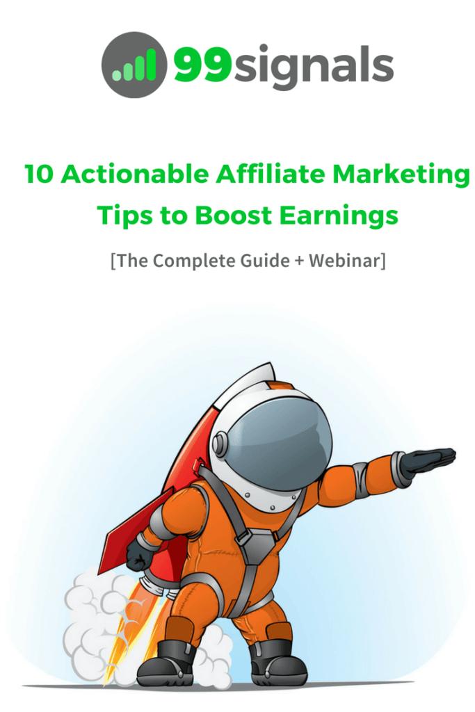 10 Actionable Affiliate Marketing Tips [Pinterest]