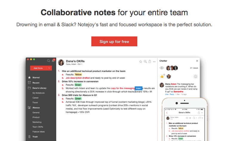 Notejoy Collaboration Tool - Deals to grab at AppSumo