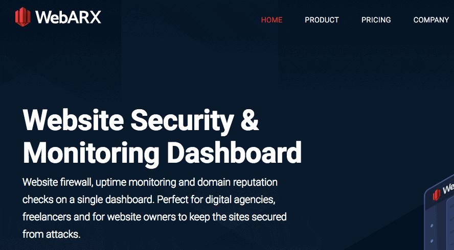 WebARX Security at AppSumo