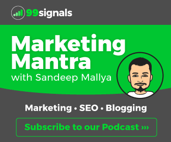 Subscribe to our Podcast - Marketing Mantra