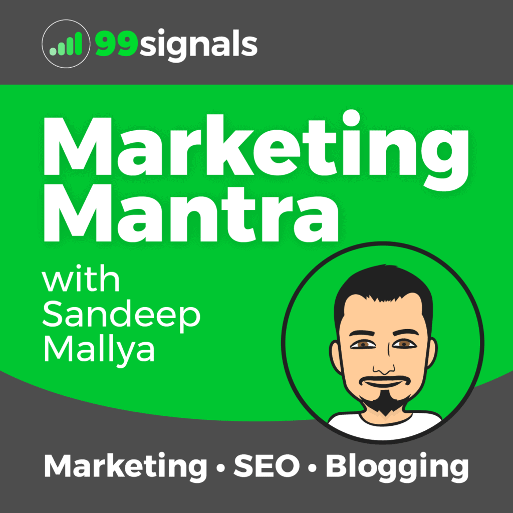 Marketing Mantra by 99signals (Cover Art)
