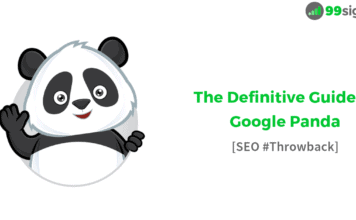 The Definitive Guide to Google Panda - SEO #Throwback